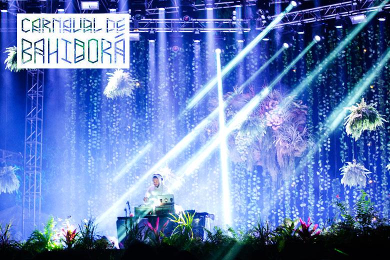 Carnaval de Bahidorá 2014 en Las Estacas, Morelos