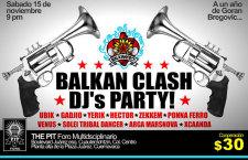 Balkan Clash la noche de selectores del sonido Balkan-Beat