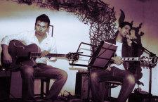 Kilombo Jazz Dúo brilló a media luz en La Maga Café