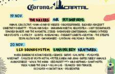 Line Up del Corona Capital