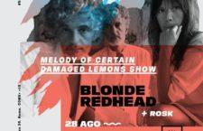 Blonde Redhead llega a México en la semana del Indie Rocks!
